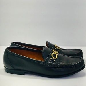 Authentic Salvatore Ferragamo Loafer Leather Shoes
